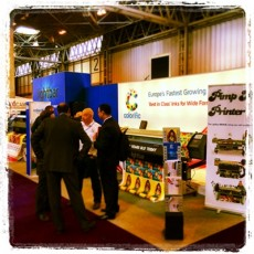 "Colorific says ""Thankyou"" to all who visited us at Sign UK!"