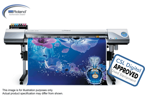 Used Equipment RE-640 wide format printer