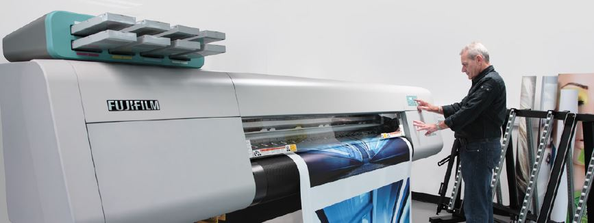 Fujifilm Acuity LED 1600 II UV printer