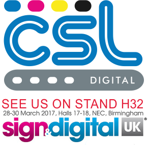 CSL Digital partners with Fujifilm at Sign and Digital UK 2017